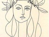 1946 Picasso Françoise Gilot