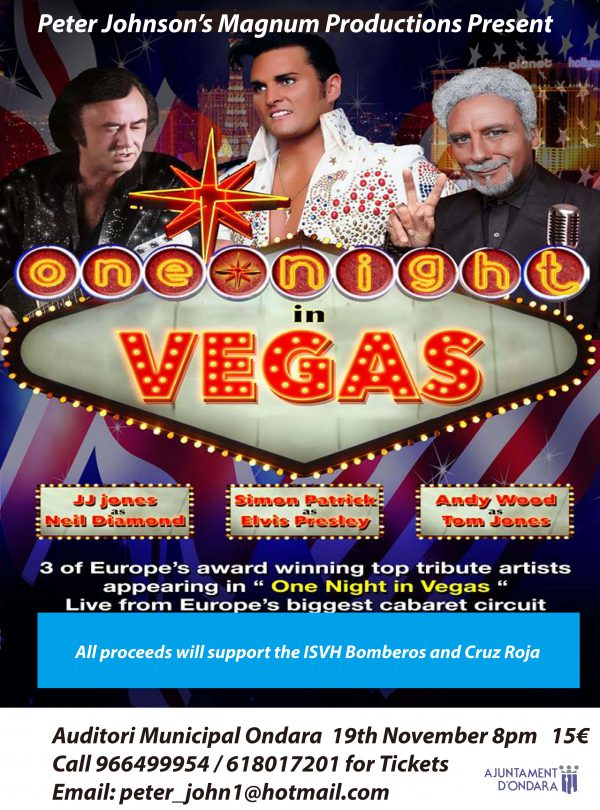 "Charity Concert ""One Night In Vegas"""