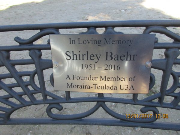 Shirley Baehr Remembrance Gathering
