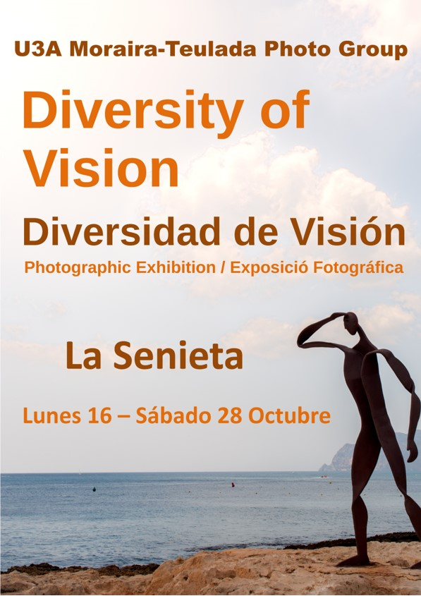 Photo Group exhibition 16-28 October 2017 La Senieta, Moraira