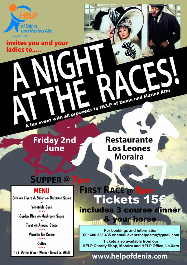 Race Night - Friday, 2nd June 2017