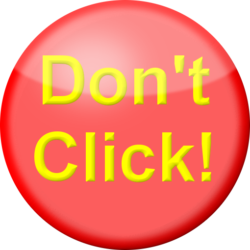 Don't Click Button