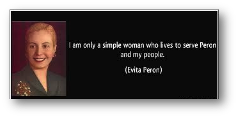 150427 History Talk 27th April 2015 Eva Perón: her life, her legacy and the legend