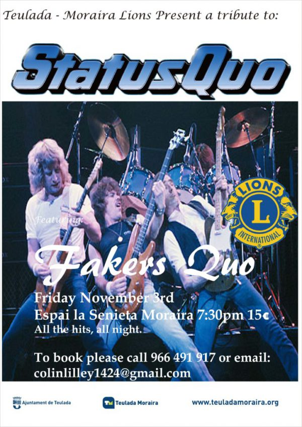 Lions Concert: Fakers Quo