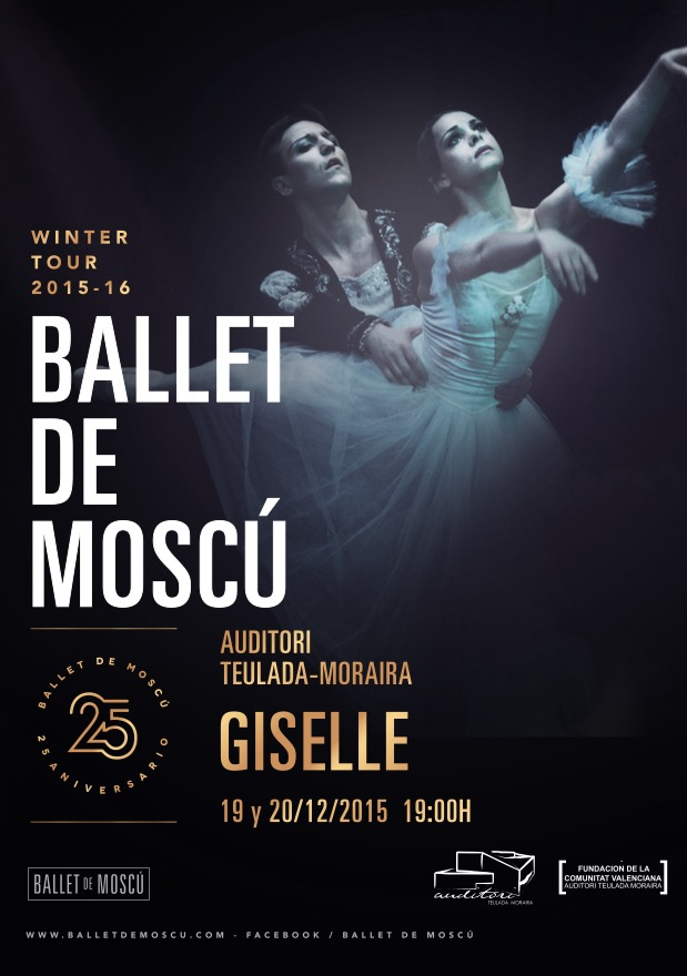 Giselle Ballet at Teulada Auditori