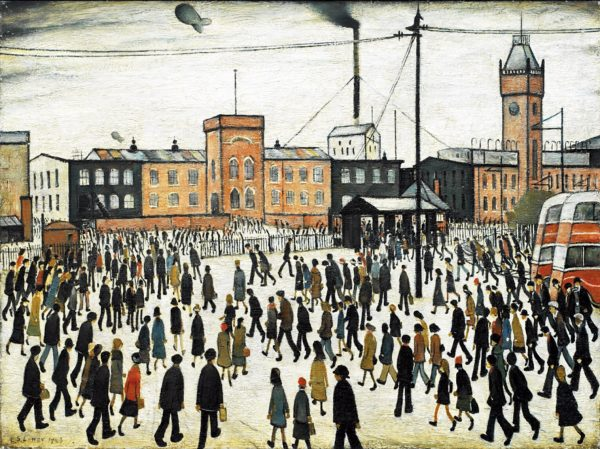 160411 11th Apr 2016 Art Talk: Parallel Lives: Lowry and Rockwell