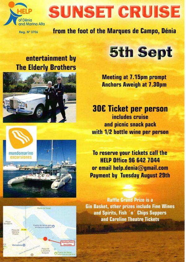HELP Charity - Sunset Catamaran Cruise
