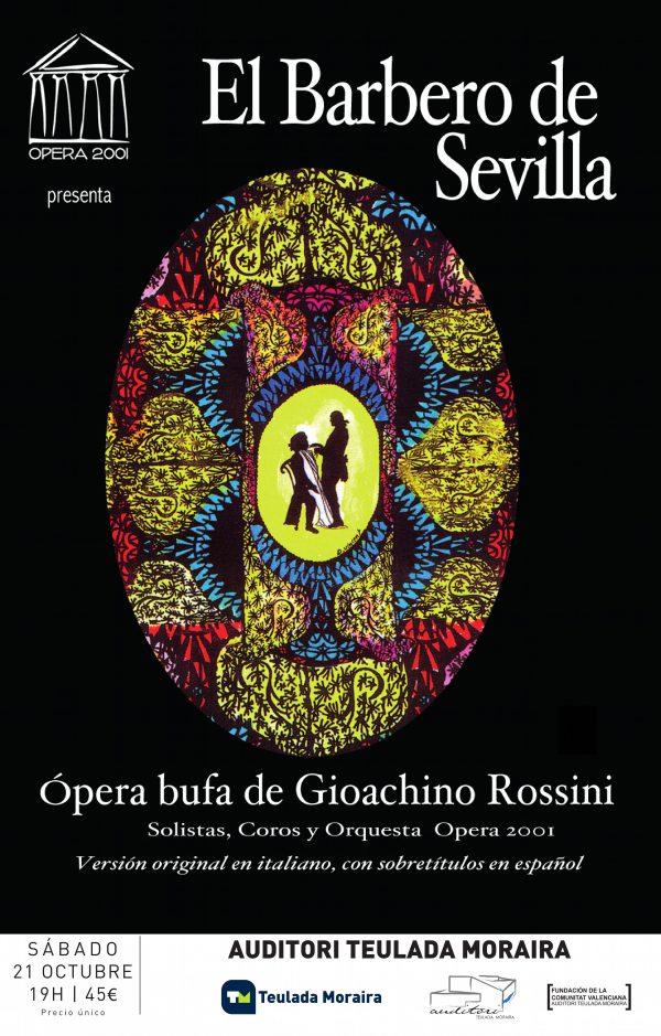 171021 - Saturday, 21 October Auditorium TM - Ópera El Barbero de Sevilla