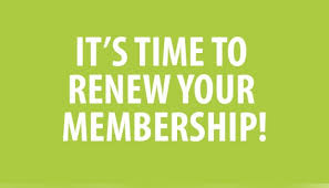 Image for Membership Renewals
