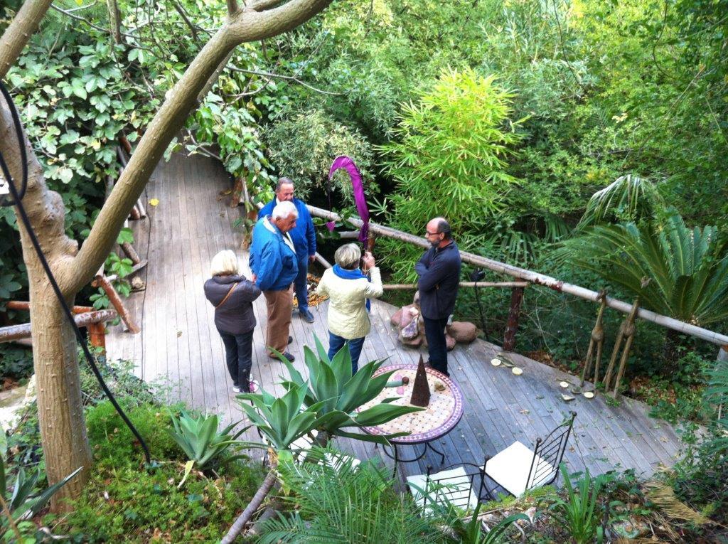 Gardening group summer programme u3a moraira teulada for Jardin de los sentidos