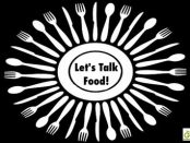 Let's Talk Food Graphic