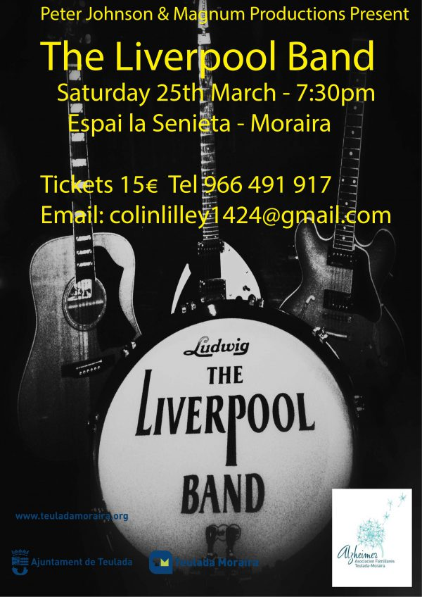 The Liverpool Band in Concert in aid of the Teulada – Moraira Alzheimer's Society (AFA)