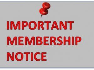 Membership Overdue