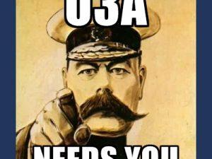 U3A needs you