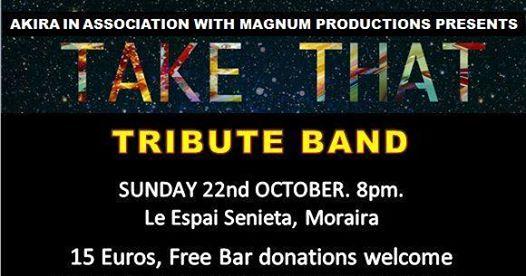 AKIRA Dog Sanctuary Fundraising Concert: Take That