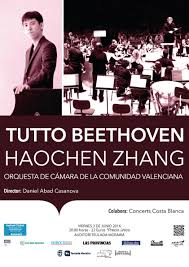 """""""TUTTO BEETHOVEN"""" with Haochen Zhang and the Chamber Orchestra of Valencia on June 3"""