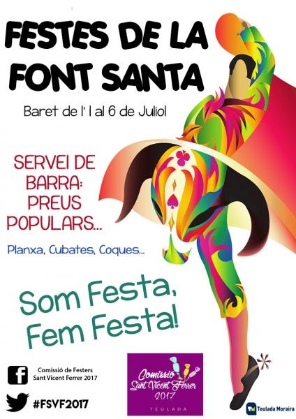 Font Santa Fiesta 1st - 6th July 2016