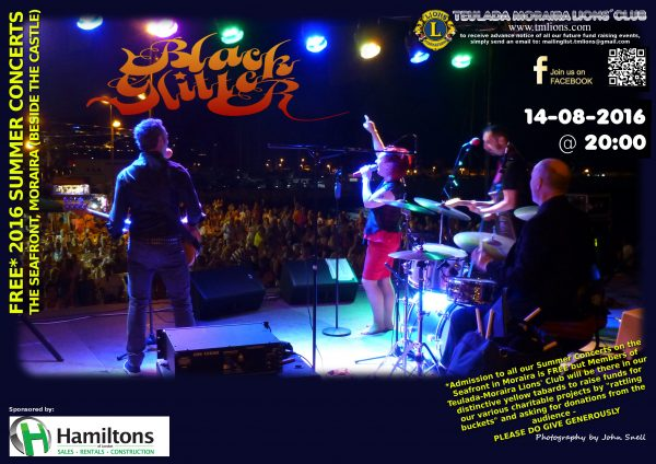 16/08/14 - TM Lions Summer Concert - Black Glitter