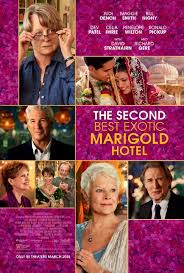 Film Group. 9th May 2016. The Second Best Marigold Hotel.