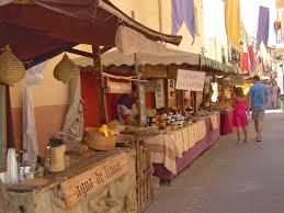 Medieval Market in Teulada - 7 - 9 August 2015