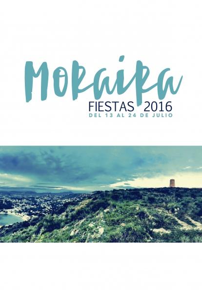 Fiestas Moraira 13th - 24th July 2016