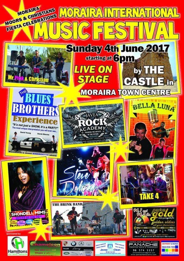 MORAIRA INTERNATIONAL MUSIC FESTIVAL : Sunday 4th June