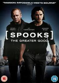 Film. 10th April 2017: Spooks. The Greater Good