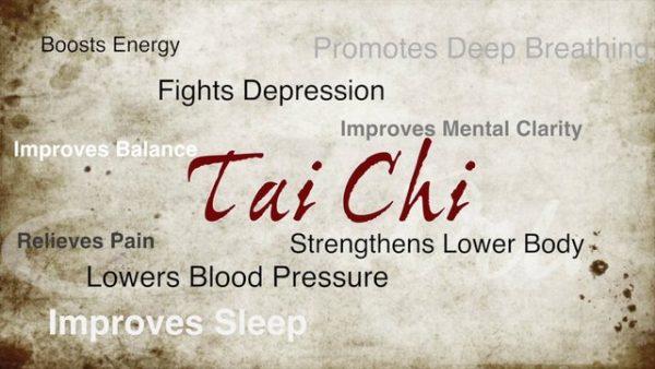 New group: Tai Chi