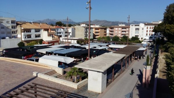 New Location For Teulada Weekly Market