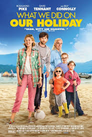 Film. Monday 8th February. What we did on our holiday (2014)